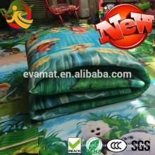 100% PU bébé tapis de jeu doux bébé rembourré tapis de jeu bébé lavable tapis