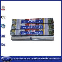 SGS calidad rollo tipo aluminio barrera hoja