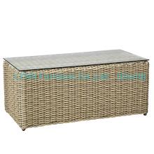 Rattan Coffee Table for Sofa Set