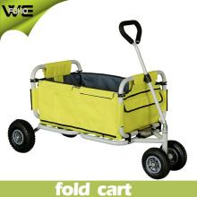 Carro de playa plegable Carro de utilidad Carro de jardín de compras