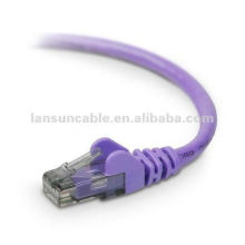 1m Purple Ethernet Patch Cable-Standard Boot-cat5 cat5e cat6 cable