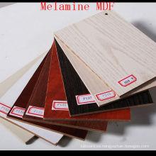 Tablero MDF Melamined de grano de madera con alta calidad