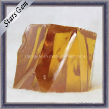 High Quality Gold CZ Rough/Raw Material, Cubic Zirconia Rough