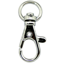 Классический цинковый сплав Key Holder Металлический брелок Snap Hook