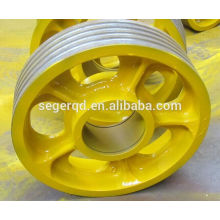large pulley cast iron pulley for sales