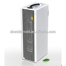 Negative ion floor standing formaldehyde air freshener assembly