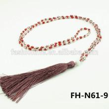 perles collier pendentif perle perlé franges turque 2015