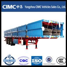 Cimc Tri-Axle 40 Feet Flat Bed Грузовой автомобиль с прицепом