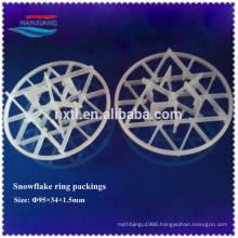 95mm Plastic intalox snowflake Packing
