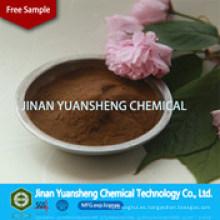 Polvo de lignosulfonato de sodio de alta pureza de madera con MSDS