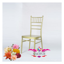 wedding furniture cheap metal aluminium chair