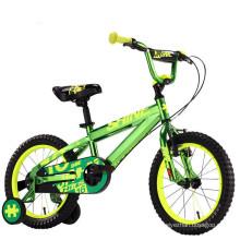 China alibaba 4 wheels cool boys 16 inch bike/China OEM brand CE children bikes/factory direct sale whole cheap kids bikes