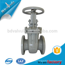 GOST rising stem gate valve cast steel gate valve manufacturer dn40-600