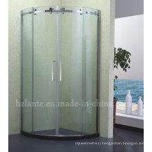2015 European Style Stainless Steel Frame Glass Shower Door (LTS-008)