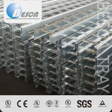 Escada galvanizada do cabo do metal da fábrica do OEM com qualidade superior