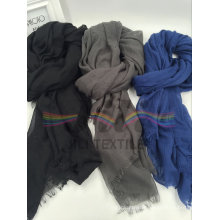 2016 Fashion Viscose Colorful Handwork Tassels Scarf