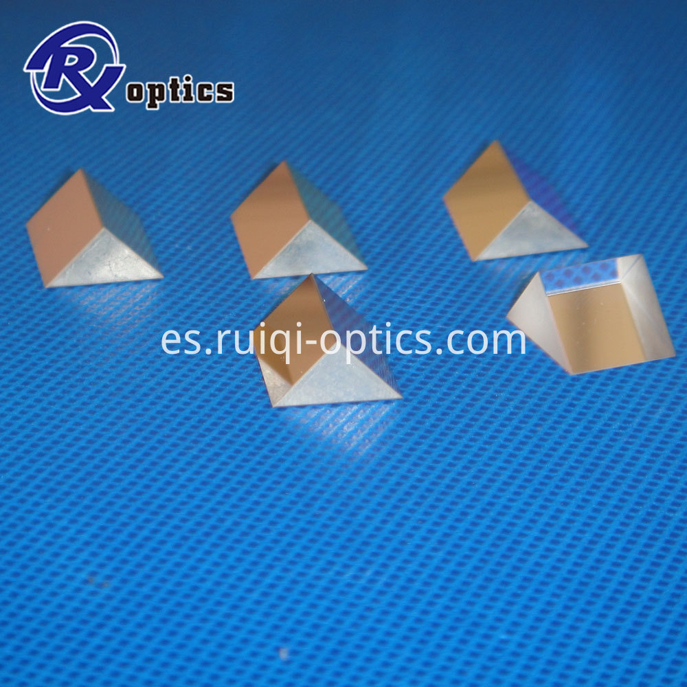 glass prism triangular