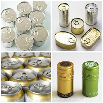 Упаковка для пищевой промышленности Алюминиевая катушка для крышки для крышки для напитков