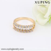 14026- Xuping Jewelry Fashion 18K chapado en oro mujer anillos
