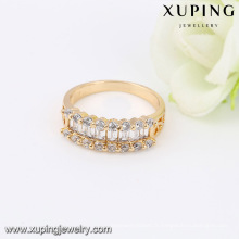 14026- Xuping Jewelry Fashion Anneaux de femme en plaqué or 18 carats