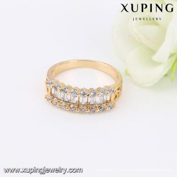14026 - Xuping ювелирные изделия 18k золото покрытием женщина кольца