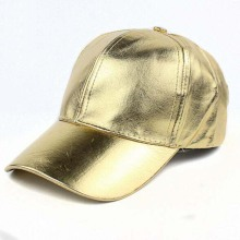 Custom Reflective Leather Baseball Cap