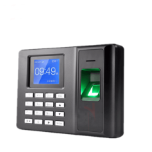 Plastic Office Stationery Fingerprint Punch Card Machine