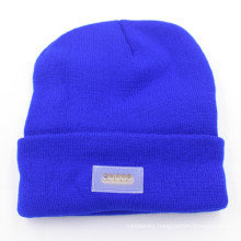 Unisex Simple Color Fashion LED Cute Knitted Hat