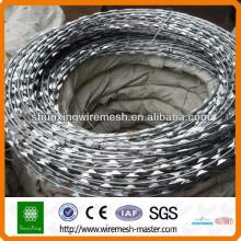 [10 years quality guarantee] Anping Factory razor wire, concertina razor wire cheap price