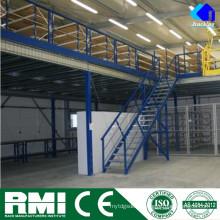 Строительные конструкции стальной структуры,промышленных автоматизации хранения вешалка Jracking мезонина хранения
