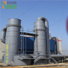 Torre de depuración de agua resistente a los ácidos para el depurador Nox