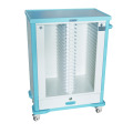 ABS Hospital Cart for Medical Holder Record Trolley/ Medical Records Trolley
