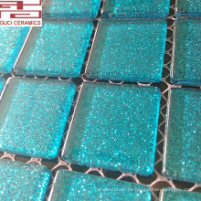 Nuevos diseños de mosaico de vidrio cristal y baldosas de baño de alta qulity