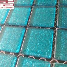 Telha de mosaico de vidro de cristal novo dos projetos e telha alta do banheiro do qulity