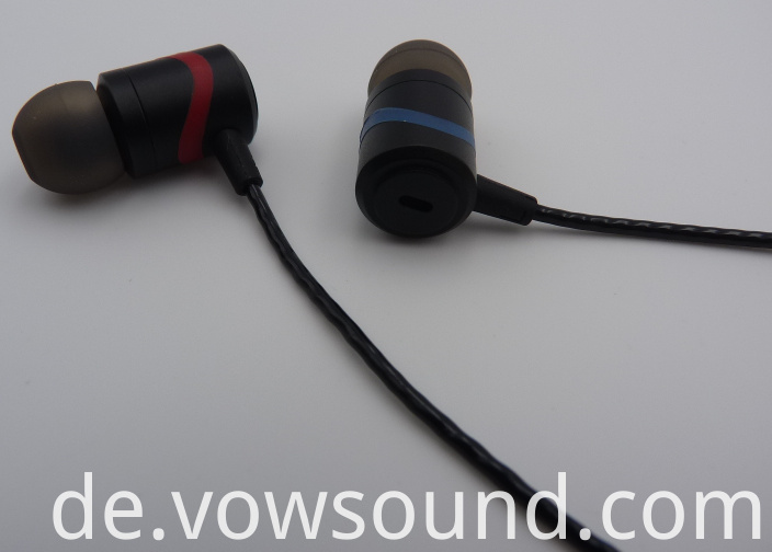 Earphone Wired Headphones Earbud with Microphone