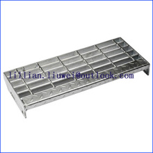 Bolted Membaiki Tangga Treads Steel Grating