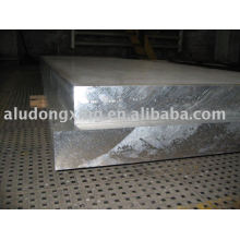 Placa de aluminio 2024 para remolque