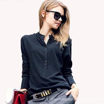 New Office Ol Blouse Long Sleeve Chiffon Shirt Plus Size Ladies Blouses for Women Work Shirt