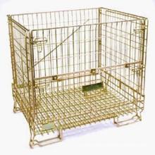 Euro Style Farbe Zink verzinkt Wire Storage Mesh Container
