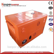 Kanpor ISO Certificate 1500/1800 6kw Portable Diesel Generator with Best Price