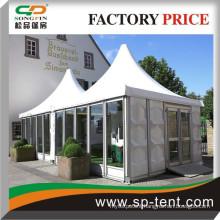 3x6m High quality luxury hexagon pagoda for sale