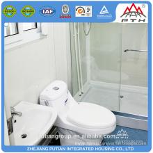 Best selling commercial steel door prefab modular bathroom