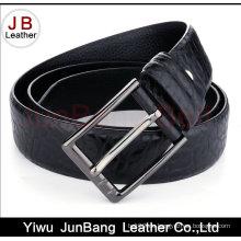 Heiße verkaufende kundenspezifische geprägte Männer echtes Leder Gürtel