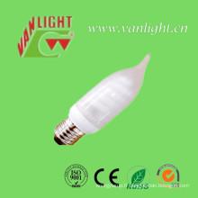 Bougie forme CFL 11W (VLC-MCT-11W), lampe économiseuse d'énergie