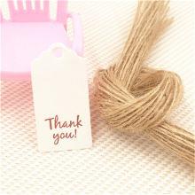 kraft paper hang tag extensões de cabelo hang tag de luxo rosa jeans de papel hang tag com rosa gol