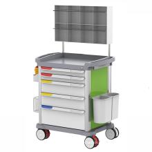 Hospital Furniture Anesthesia Trolley Mobile Medical Equipment Crash Cart