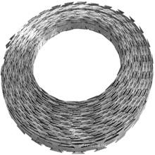 BTO-22 CBT-65 Concertina wire razor wire coil prison fence price with loops