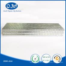 Imán de disco sinterizado de encargo permanente con RoHS (DDM-018)