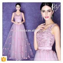 Elegante Ladies Beautiful Light Purple Long Evening Dress Sexy Long Dinner Formal Dress