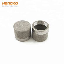 HENGKO high quality 0.5~90 microrns sintered porous ventilation dust-proof powder metal filters for raw material filtration